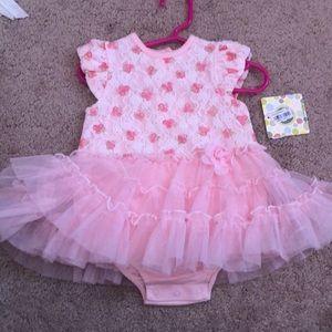 NWT little me dress tutu dress